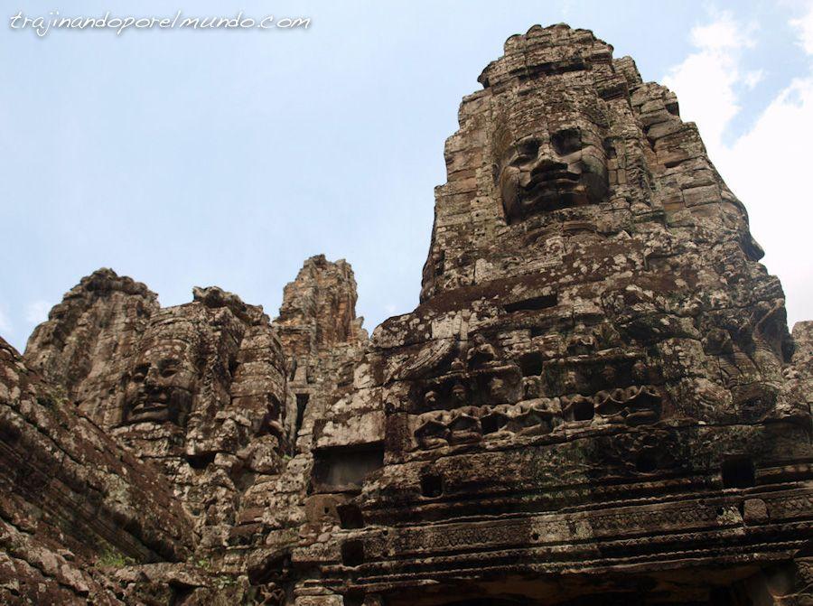 viaje, Camboya, templos, que ver, bayon, angkor wat