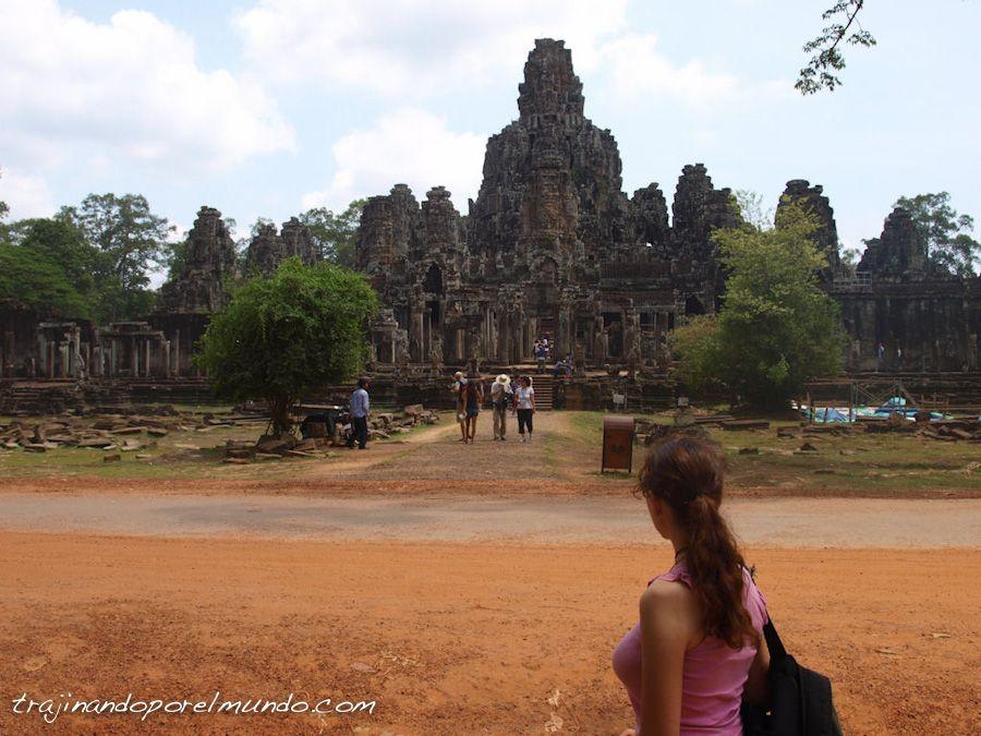 viaje, Camboya, templos, ruinas, patrimonio, turismo