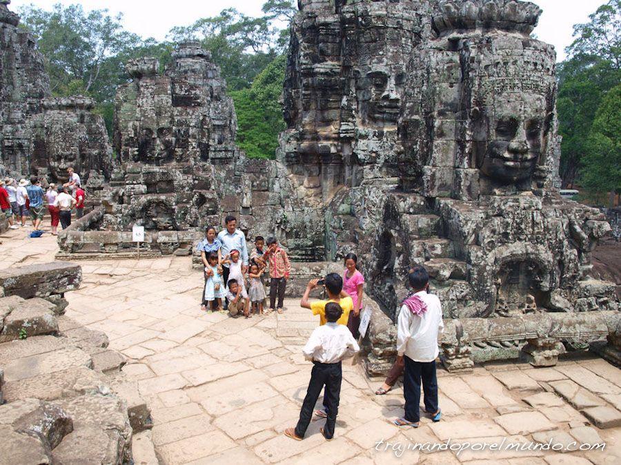 arqueologia, camboya, ruinas, angkor, turistas, que ver