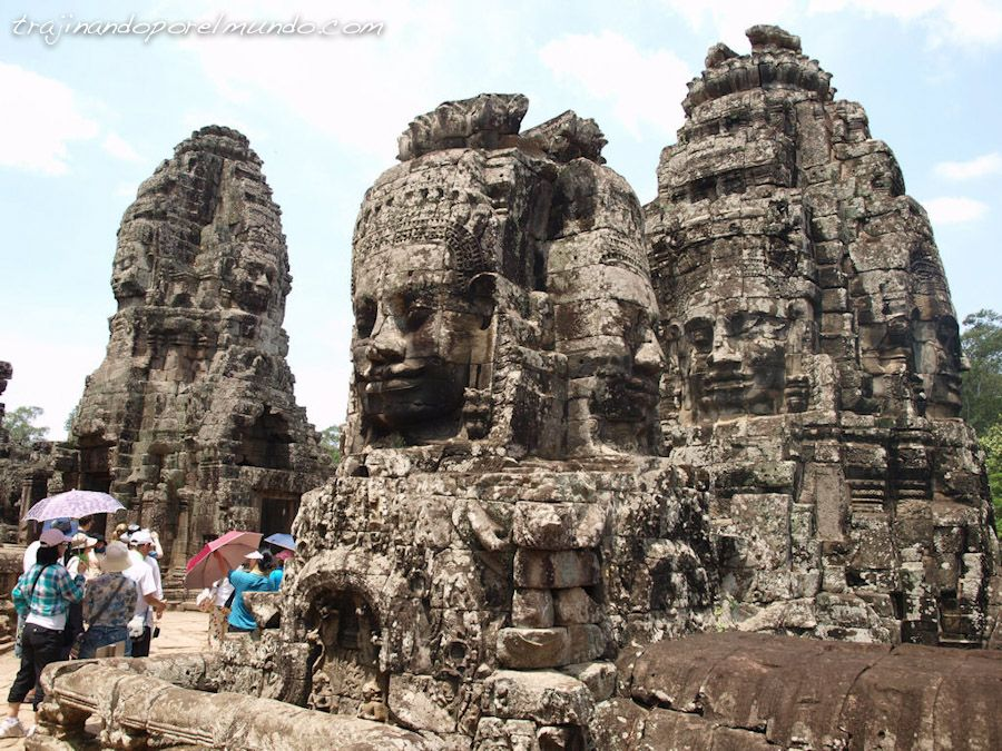 Camboya, viaje, bayon, buda, rey, arquitectura, arte, religion