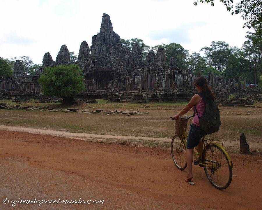 Camboya, angkor, bicicleta, excursion, visita