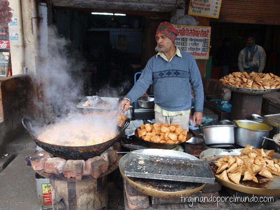 salud en india, consejos, aceite, fritos