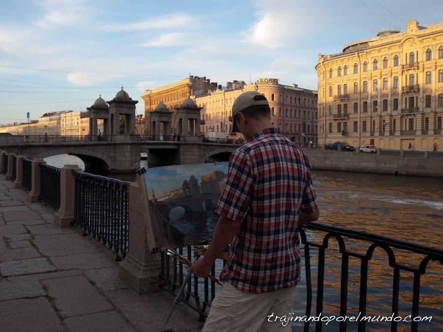 viaje a Rusia, que ver, San Petersburgo, canales, puentes, transiberiano