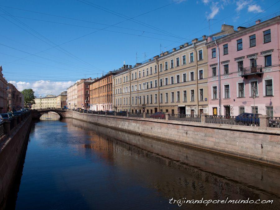 viaje a Rusia, San Petersburgo, que ver, canales