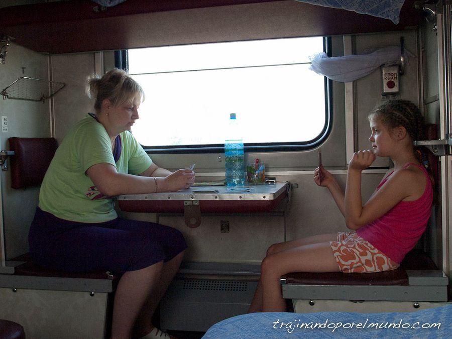transmongoliano, que ver, Rusia, tren, viaje, rusos, juegos