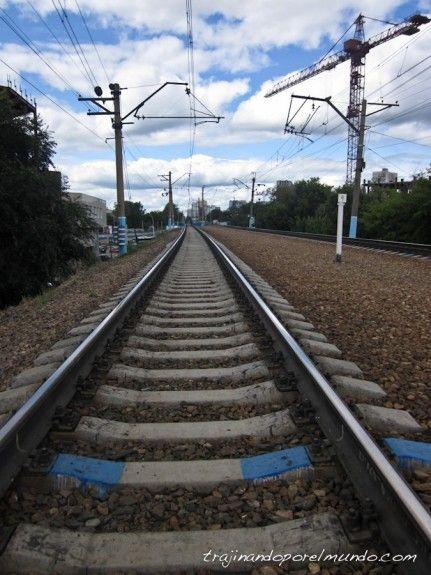 viaje, tren, transiberiano, rusia