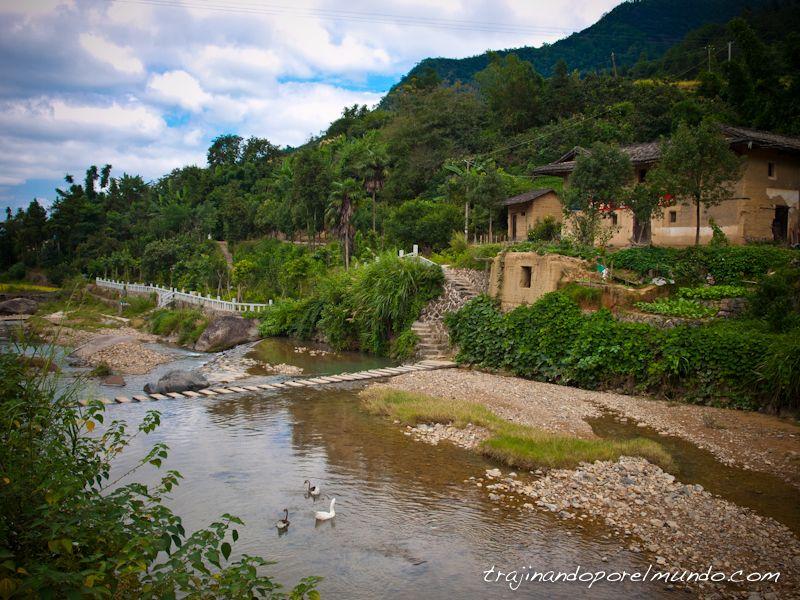 viaje a china, tulou, fujian, patrimonio de la humanidad