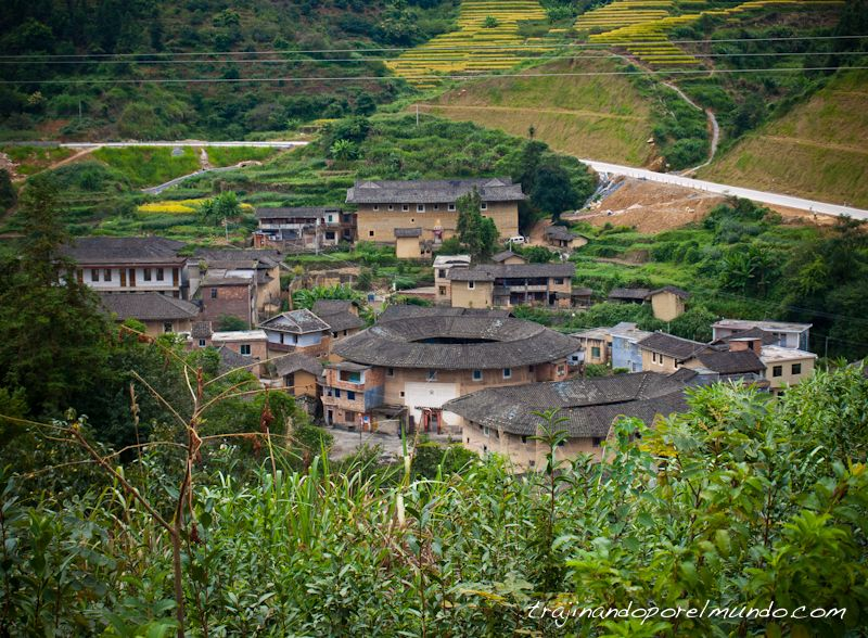 hakka, China, pueblos, fujian