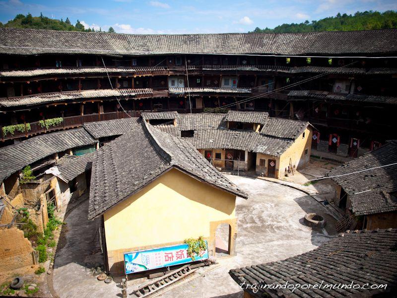 viaje a fujian, china rural, tulou, alojamiento