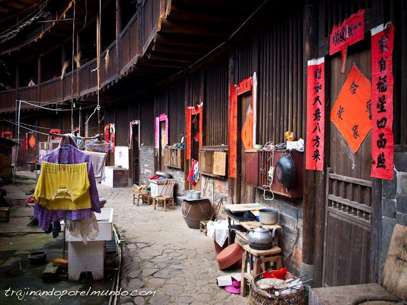viaje a China, tulou, por libre, pueblos