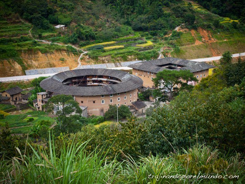 provincia de fujian, hakka, tulou, viaje a China