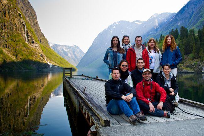 crucero, fiordos, noruega