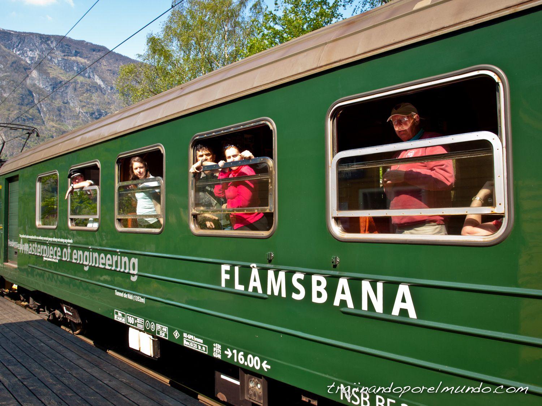viaje a noruega, escala en voss y flam, tren de flam, que hacer