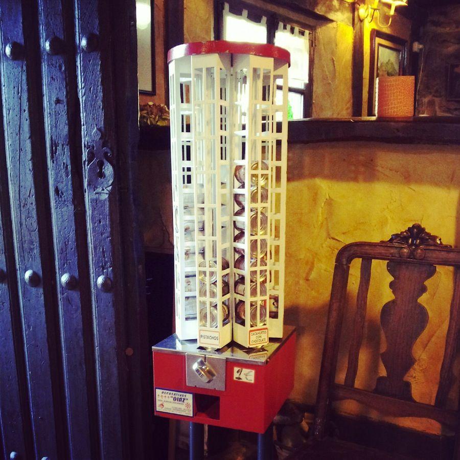 Maquina de frutos secos