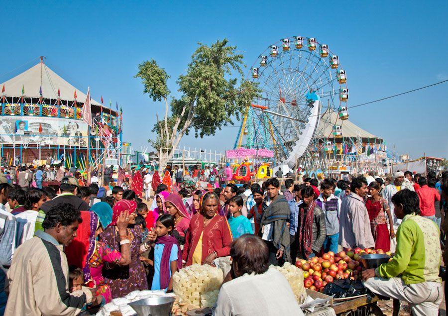 Atracciones Feria Pushkar