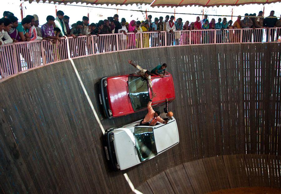 Atracciones coches Feria Camello Pushkar