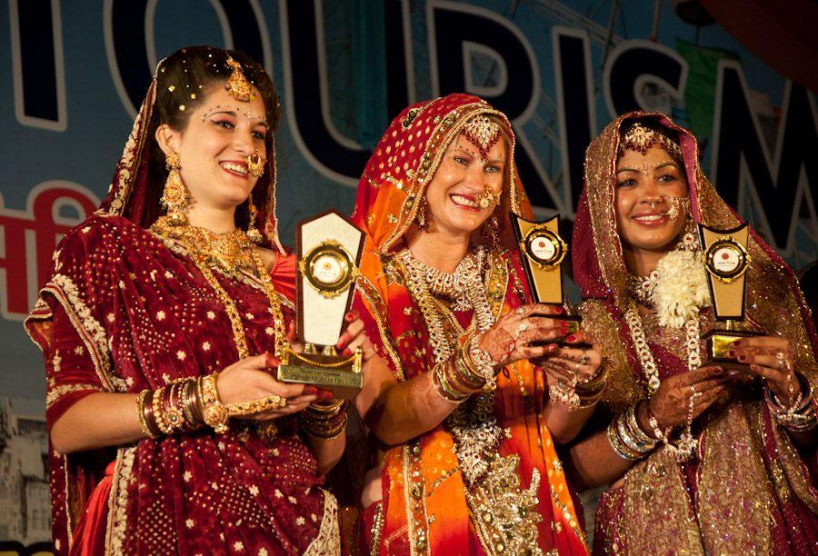 Concurso vestidos novia Pushkar Feria