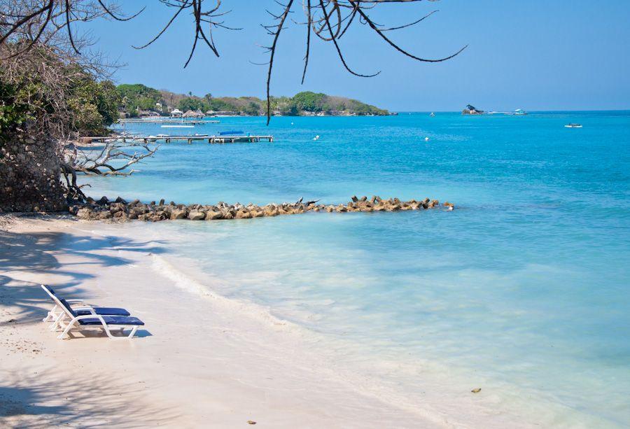 Playa paradisiaca Colombia