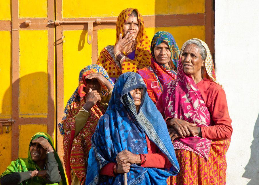 Mujeres Desfile Fiesta India