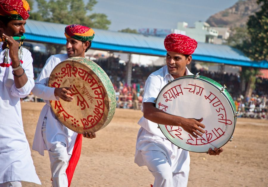 Music band Pushkar India