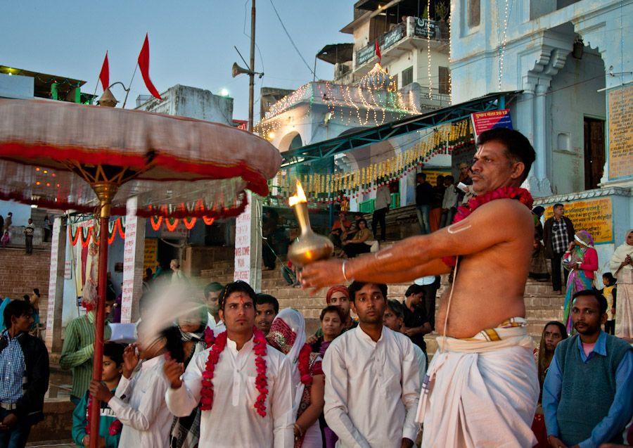 Ofrenda Puja India