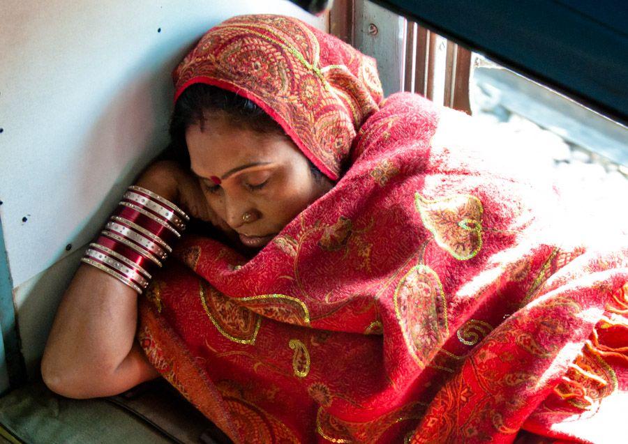 Viajar en tren India