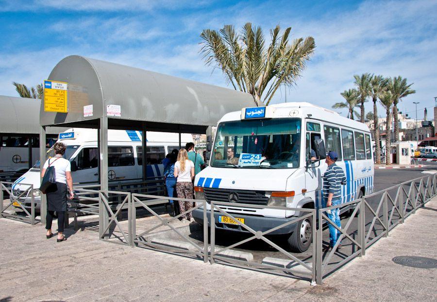 estacion autobus Puerta de Damasco