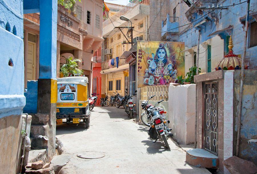 Paseo por Jodhpur, Rajasthan