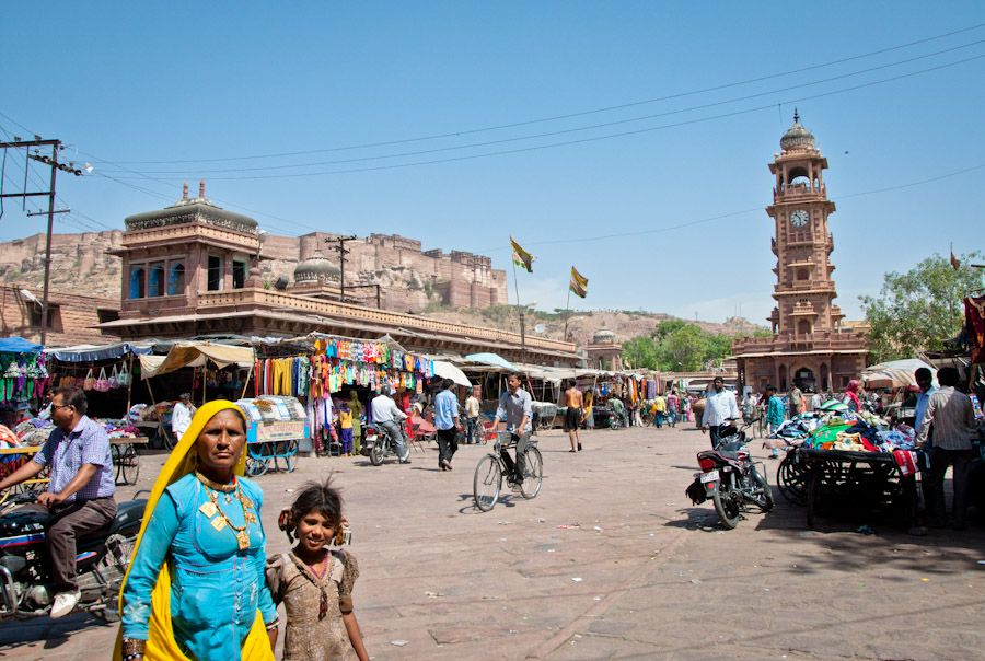 clock tower jodhpur market