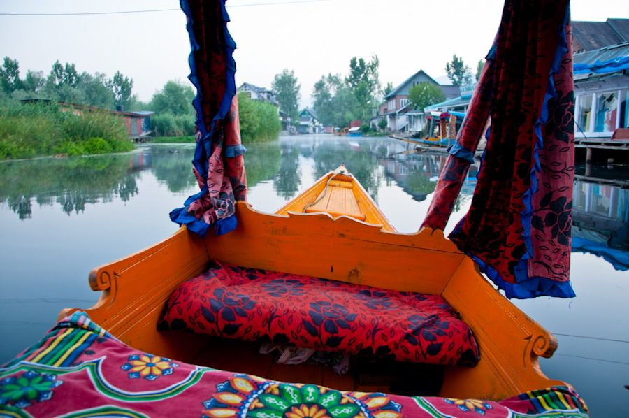 Mercados flotantes de Srinagar
