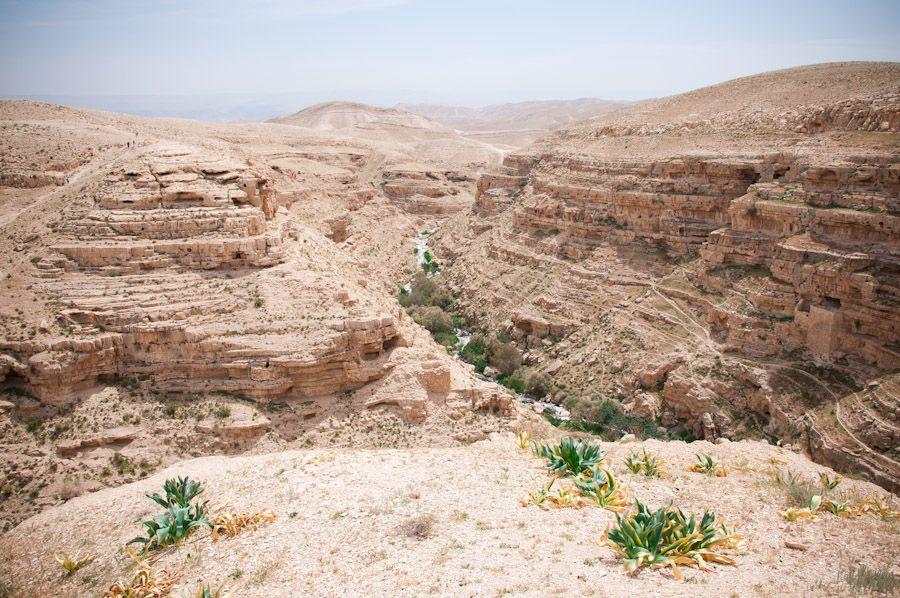 Paisajes Belen Palestina desierto
