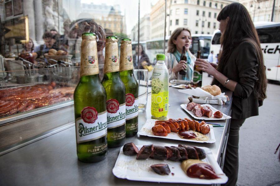 Viaje a Viena, donde comer, comer en la calle, comer barato