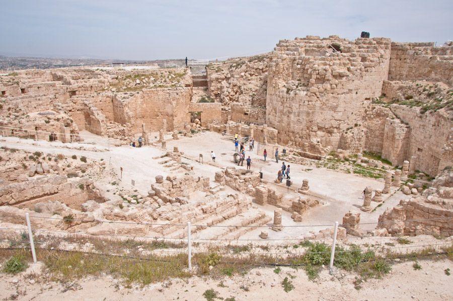 Palacio y tumba de Herodes en Belen Palestina