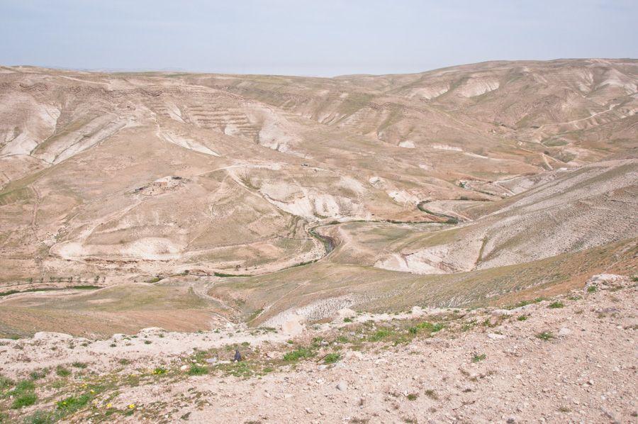 Desierto en los alrededores de Belén