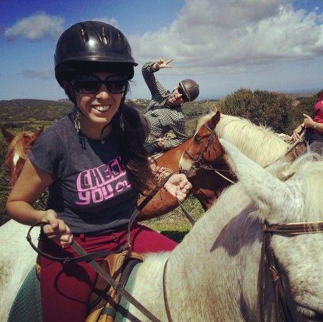 montar caballo menorca