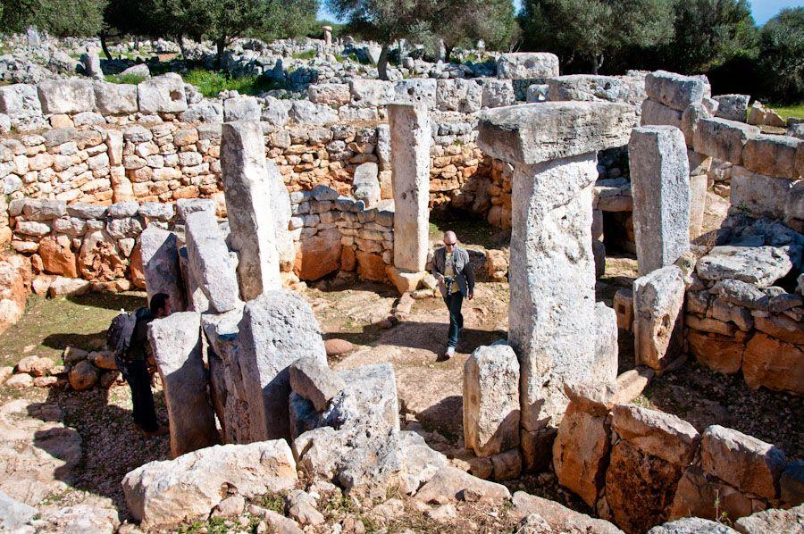 arqueología en menorca