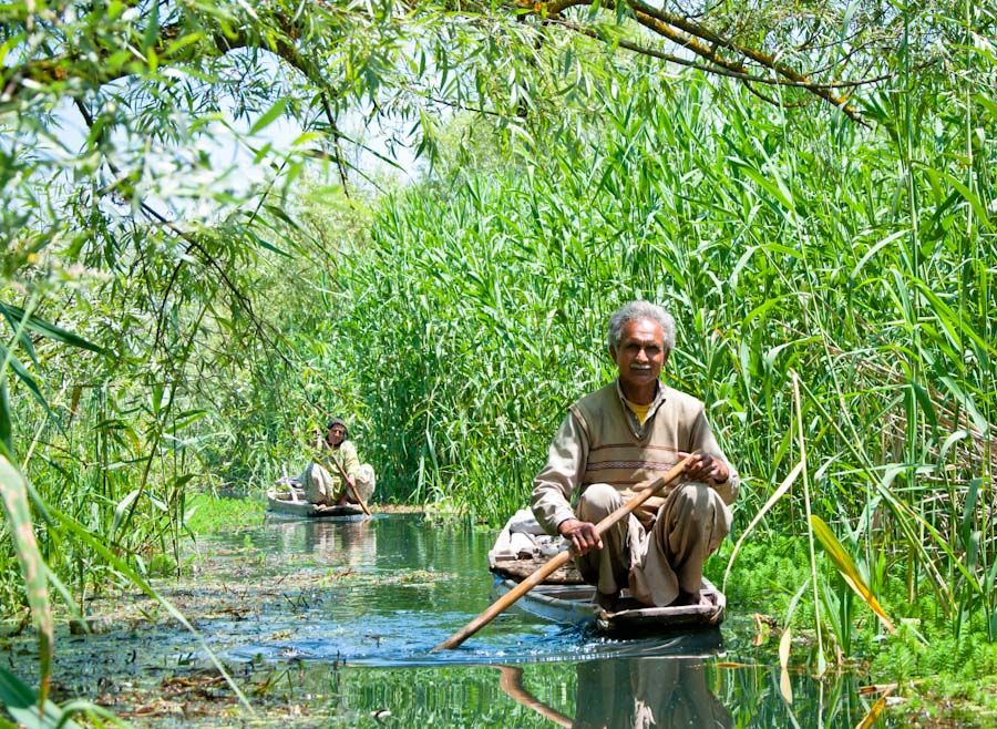 Cachemira, water-trekking, Srinagar, excursiones, paisajes