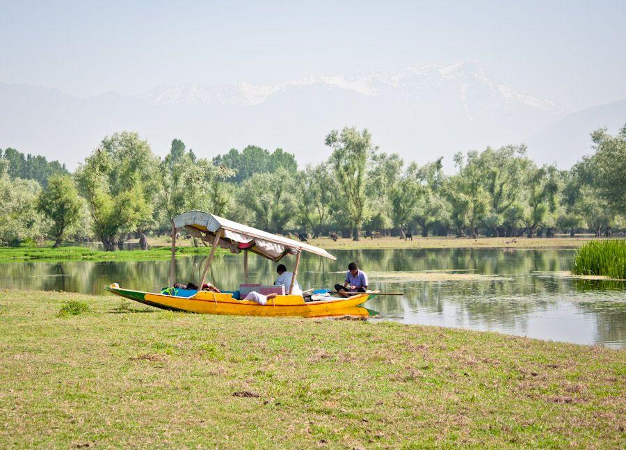Sikhara, Cachemira, Kahmir, India, lago, canales, trekking, paseo