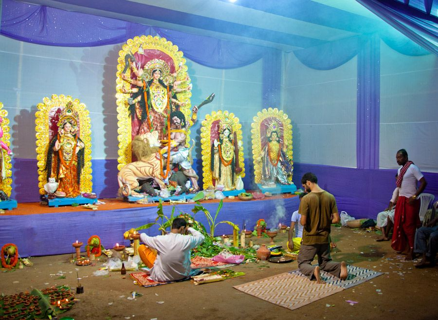 durga, puja, navratri, festival, india, celebration, assam