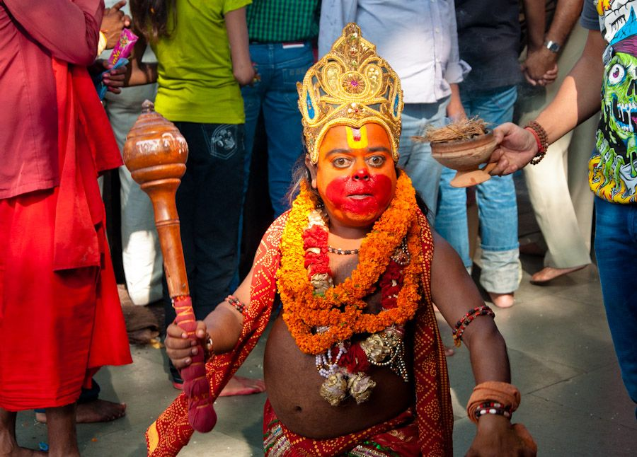 Hanuman, dios, god, India, festival, templo, temple, Guwahati, Assam