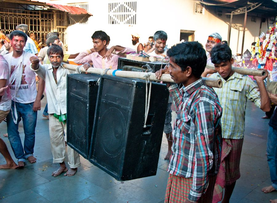 India, musica, Bollywood, baile, fiesta, altavoces