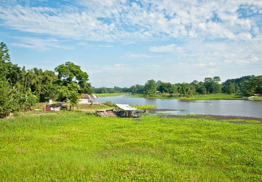 Majuli, isla más grande, India, monjes, satras