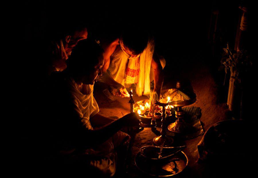 kongali, bihu, festival, assam, majuli, india, satra, monasterio