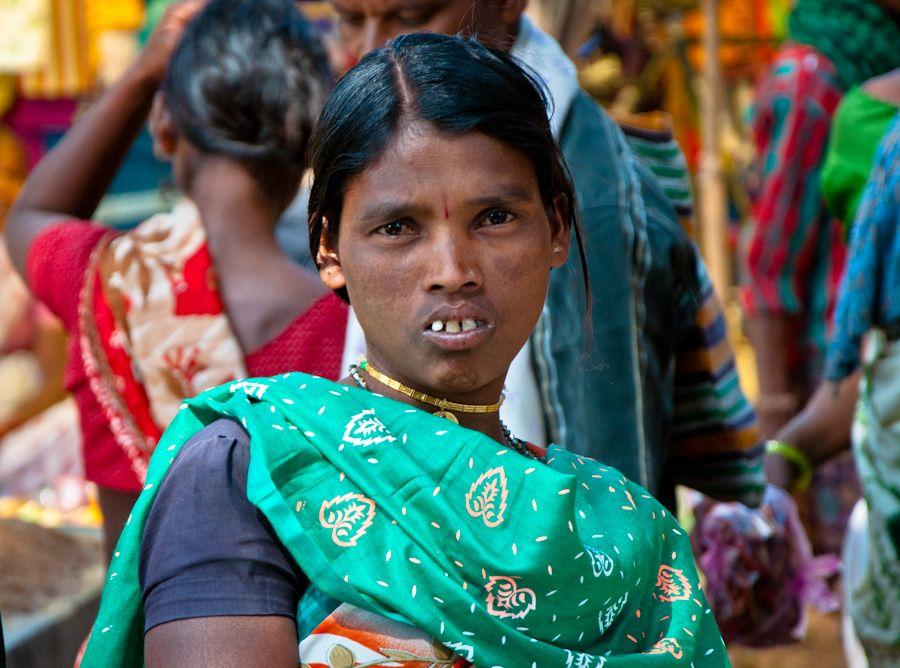 India, adivasi, tribus, market, mercado, Jagdalpur