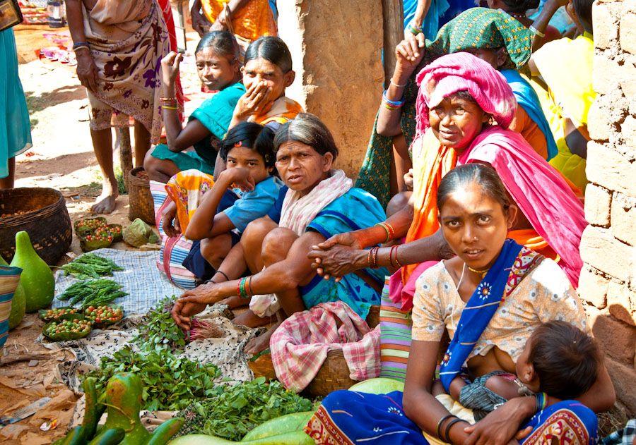 aldea, adivasi, India, tribus, indigenas