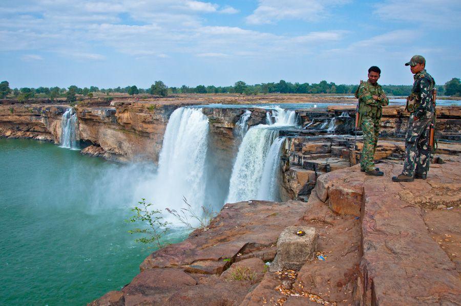 chhattisgarh, Jagdalpur, cascada, waterfall, que ver