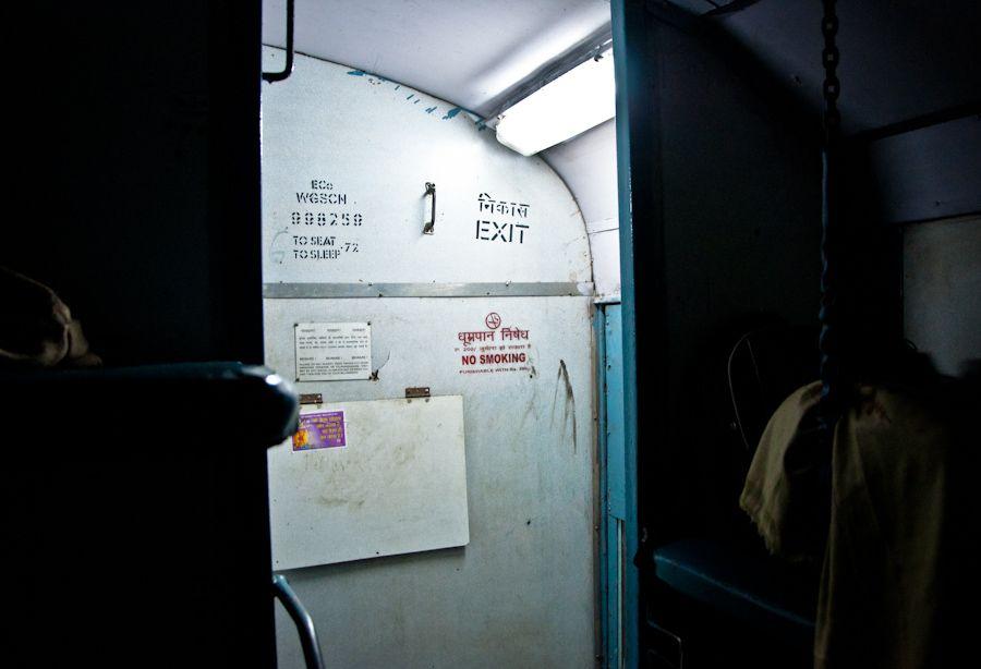 sleeper, India, tren, viajar en tren, barato