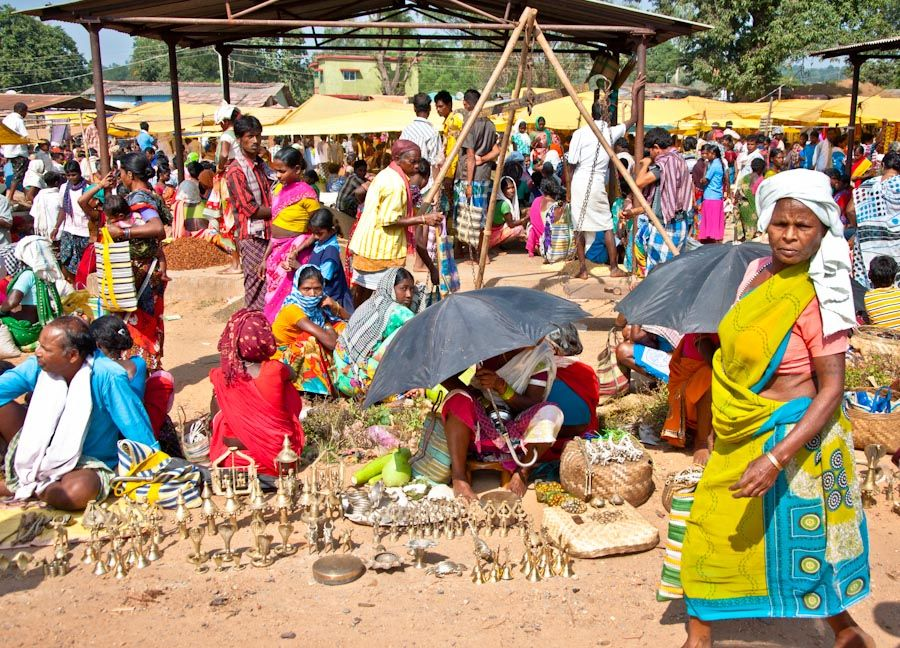 Jagdalpur, Chhattisgarh, India, viajar, tribus, indigenas
