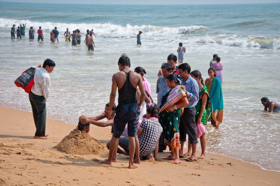 Orissa, India, beach, playa, Puri, viajar, playas de India