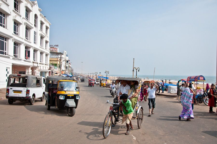 India, Orissa, playa, que ver en Puri, beach